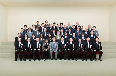 写真:創立40周年記念・集合写真